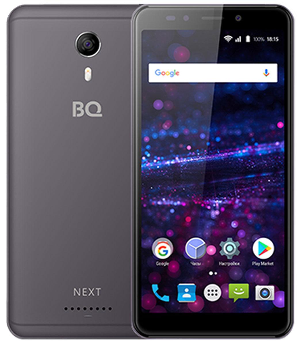 Смартфон BQ Mobile 5522 Next 8 GB, серый смартфон bq 5522 next