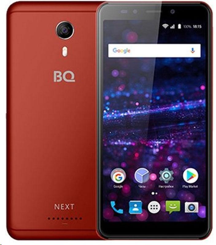 Смартфон BQ Mobile 5522 Next 8 GB, красный смартфон bq 5522 next
