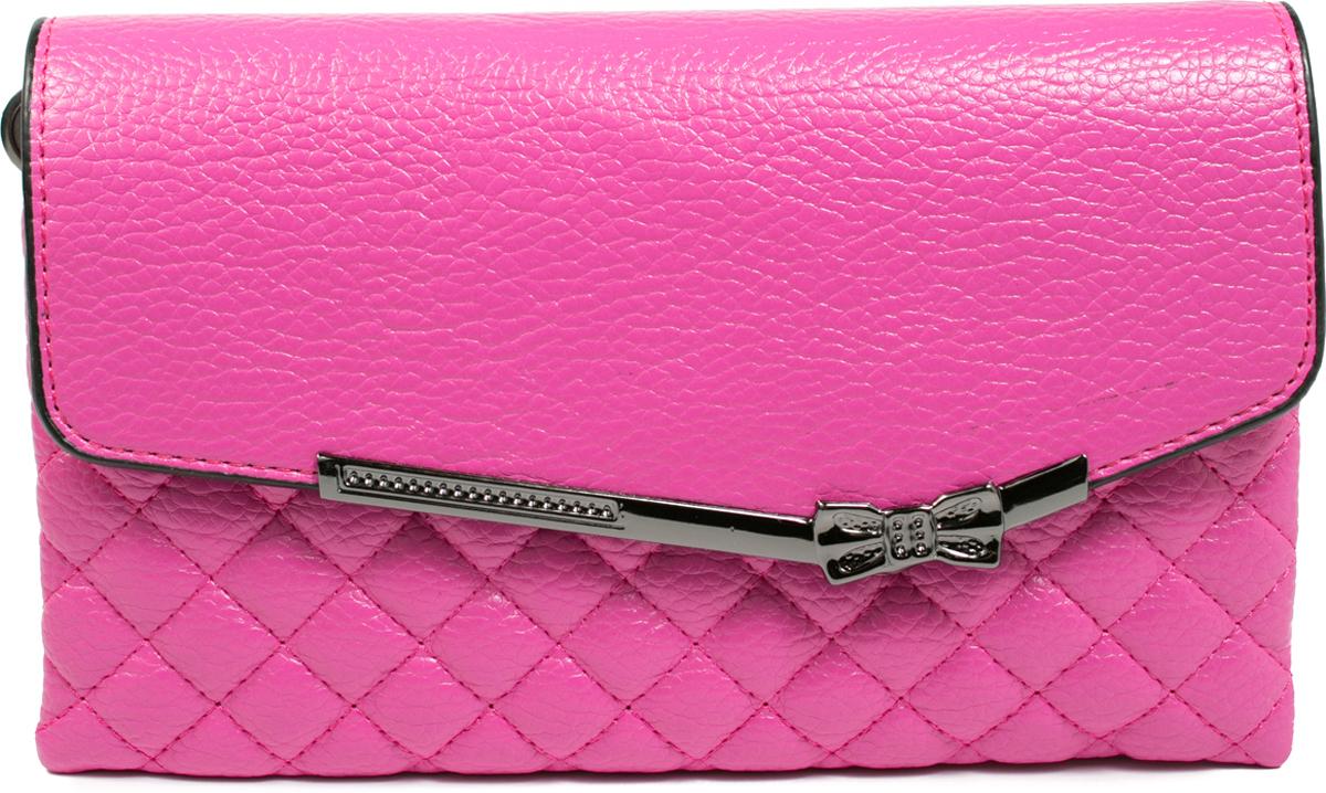Клатч кошелек женский Mitya Veselkov цвет розовый K0502 06 цена и фото