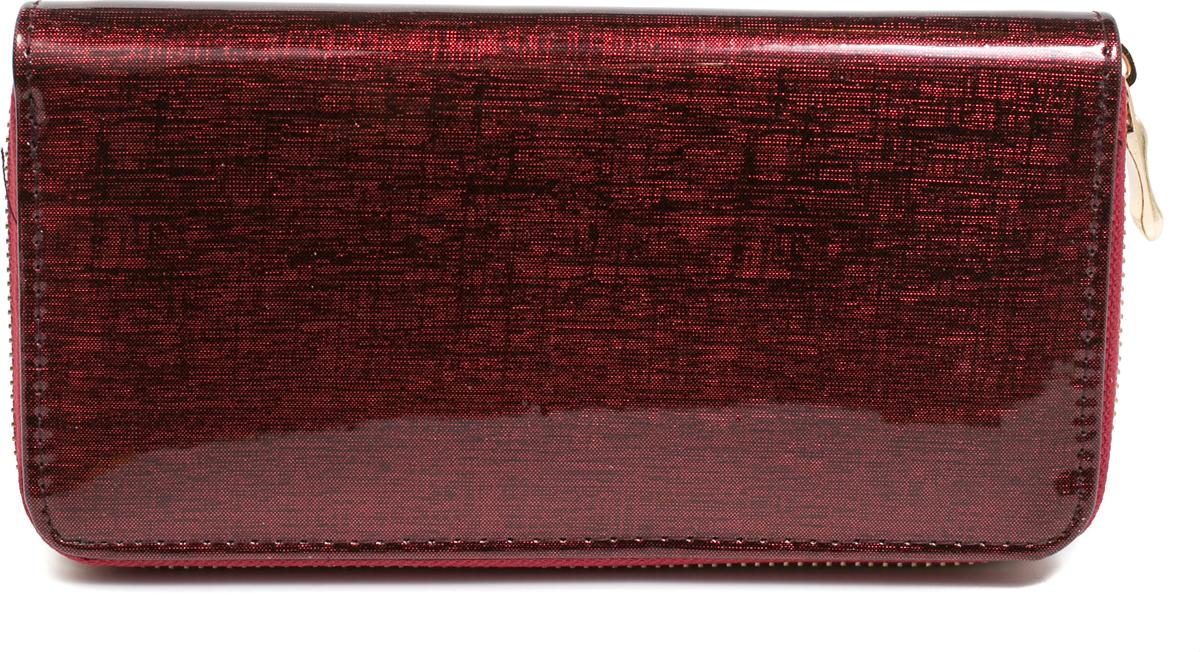 Кошелек женский Mitya Veselkov, цвет: бордовый. K1901-08 цена и фото