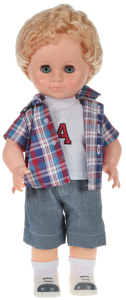 Весна Кукла Мальчик цвет одежды синий белый красный В3087