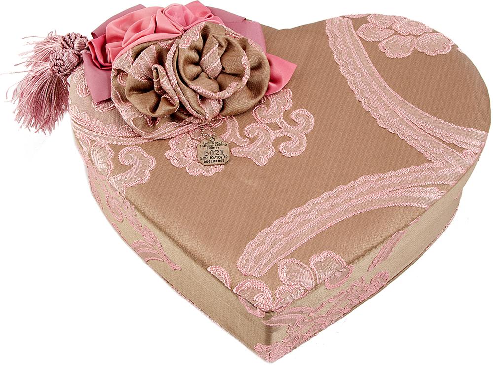 Шкатулка для украшений, цвет: розовый, 26 х 17 х 10 см. 84585