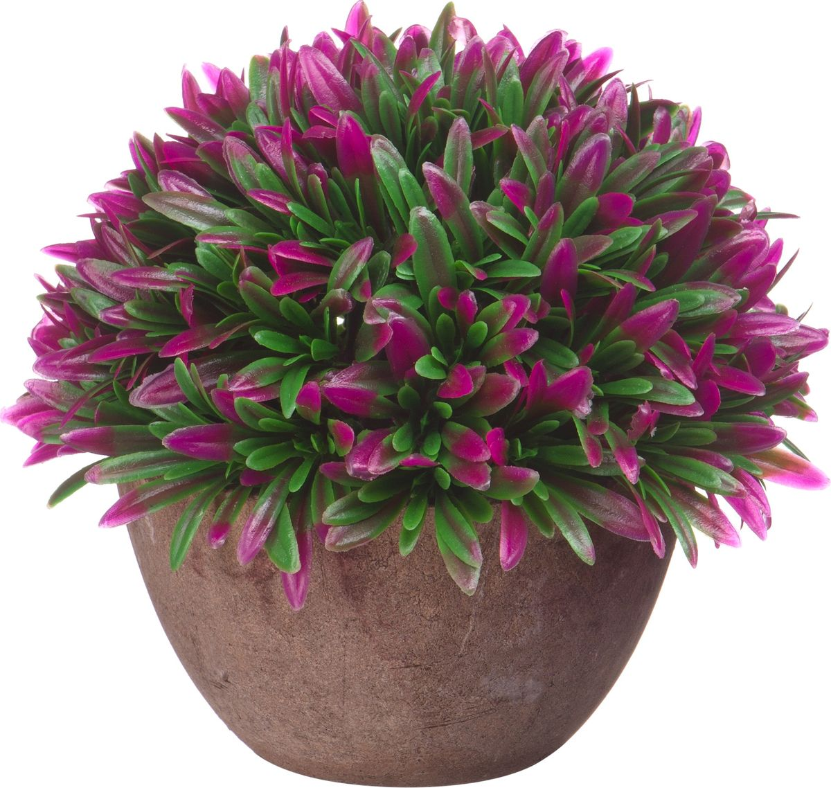 Композиция цветочная Engard Азалия, в кашпо, цвет: розовый, 15 х 13,5 см бутыль декоративная engard высота 15 см