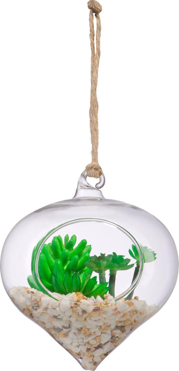 Ваза Engard Конус, подвесная, с наполнением, 12 см бутыль декоративная engard высота 15 см
