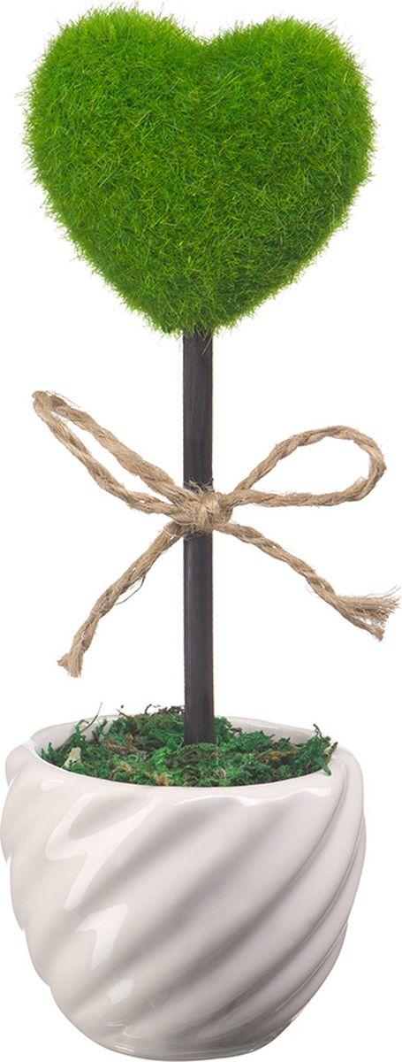 Фигурка декоративная Engard Сердце, 23 х 7 см украшение декоративное engard птичка с колокольчиком цвет зеленый 44 х 10 см