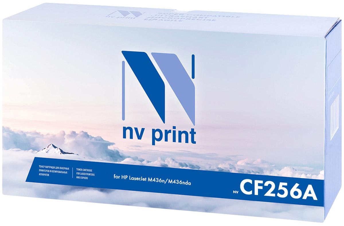 Картридж NV Print NV-CF256A, черный, для лазерного принтера цена