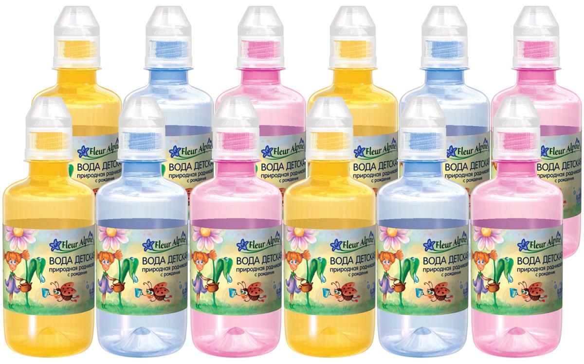 Fleur Alpine Вода детская питьевая с рождения, 12 шт по 0,25 л