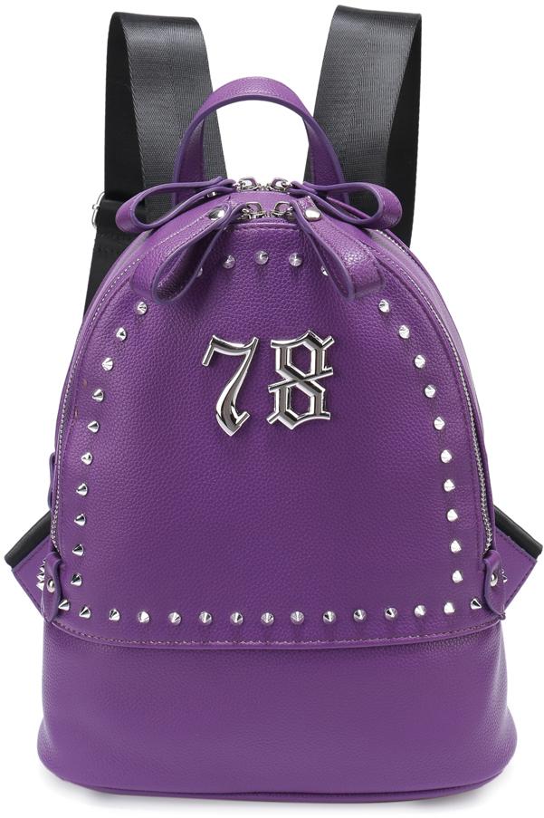 цена Рюкзак женский OrsOro, цвет: фиолетовый, 24 x 30 x 13 см. DS-826/3 онлайн в 2017 году