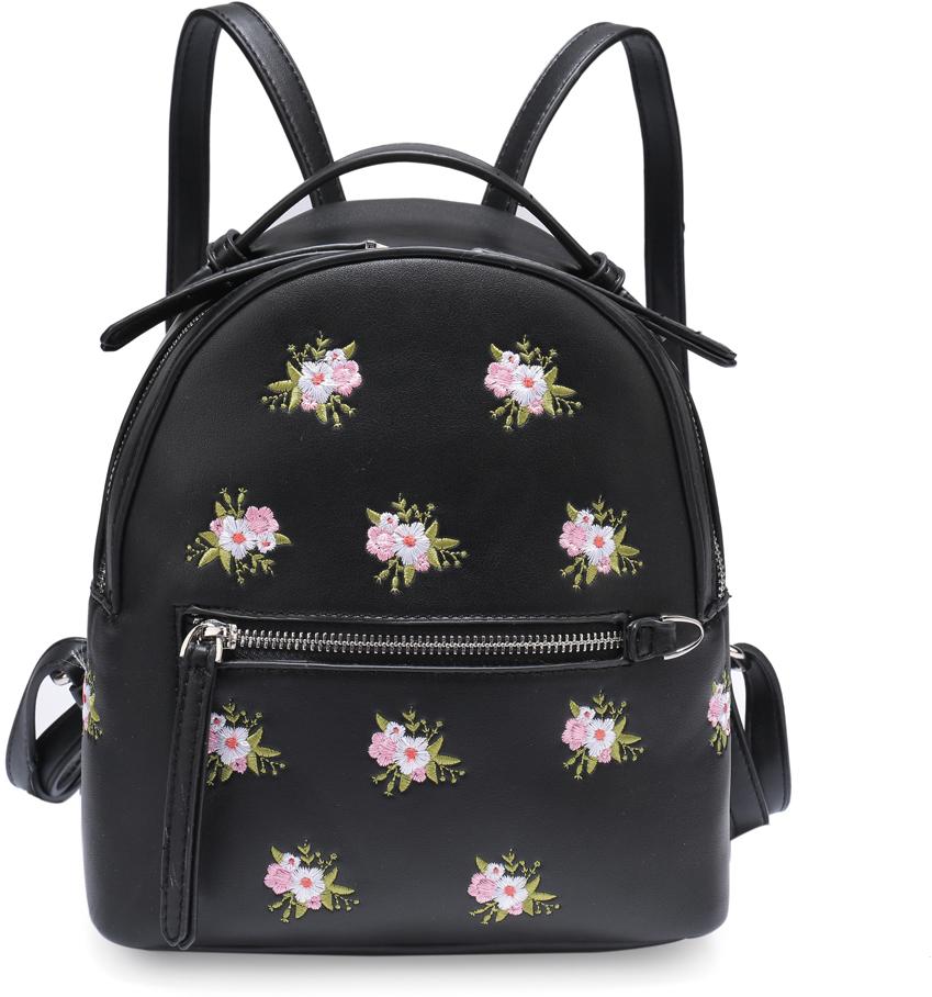 b20a54f61059 Рюкзак женский OrsOro, цвет: черный, 23 x 24 x 12 см. DS-833/1 — купить в  интернет-магазине OZON.ru с быстрой доставкой