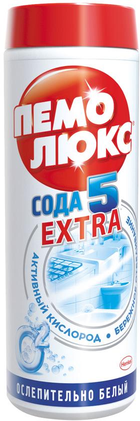 Чистящее средство Пемолюкс Сода 5 Экстра Ослепительно белый 480г цены онлайн
