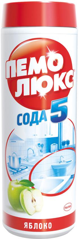 Универсальное чистящее средство Пемолюкс Яблоко, 480 г средство для чистки барабанов стиральных машин nagara 5 х 4 5 г