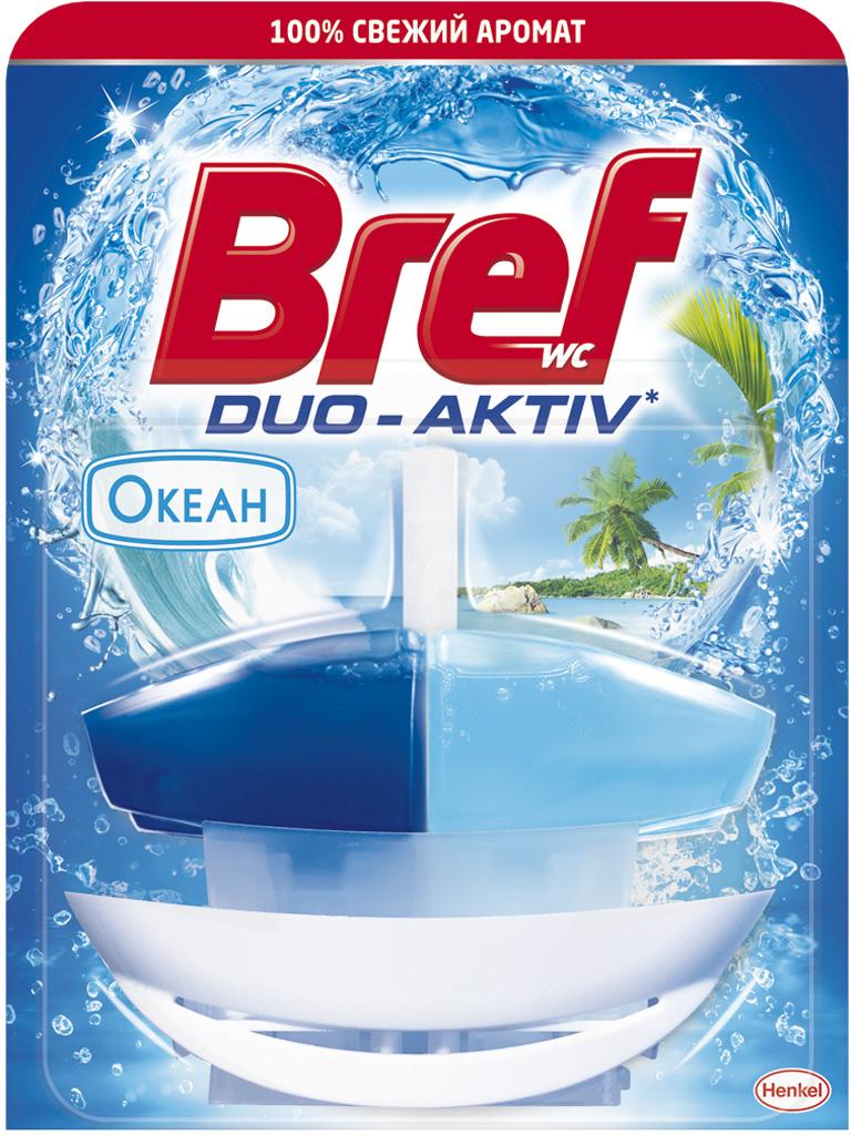"Чистящее средство для унитаза Bref Duo Aktiv ""Океан, 50 мл"