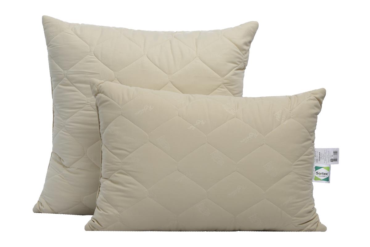 Подушка Sortex Natura, наполнитель: верблюжья шерсть, силиконизированное волокно, 70 x 70 см подушки sova and javoronok подушка 70 70 верблюжья шерсть