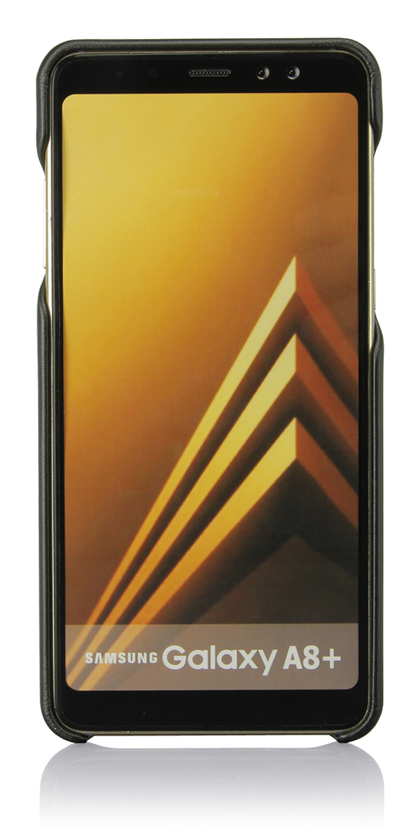 Накладка G-Case Slim Premium для Samsung Galaxy A8+ (2018) SM-A730F/DS черная цена и фото