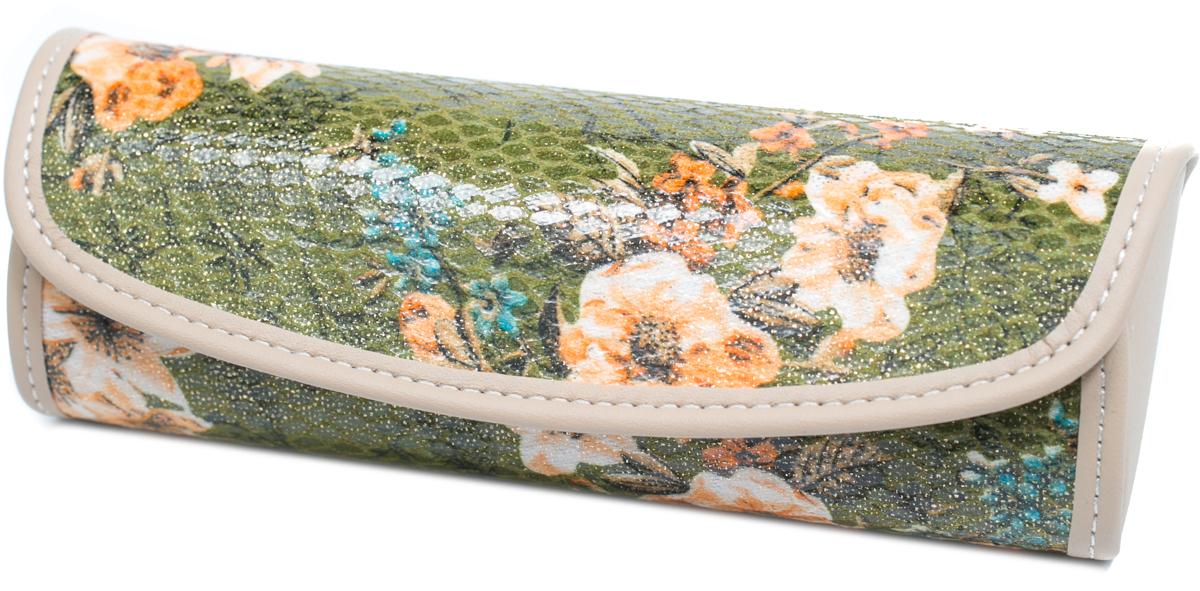 Футляр для очков женский Mitya Veselkov, цвет: зеленый. EI-222c9 цена и фото