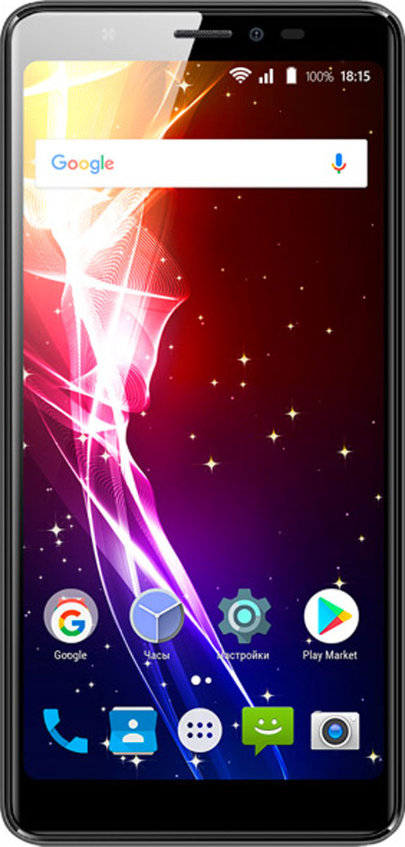 Смартфон BQ Mobile 5500L Advance LTE 16 GB, черный