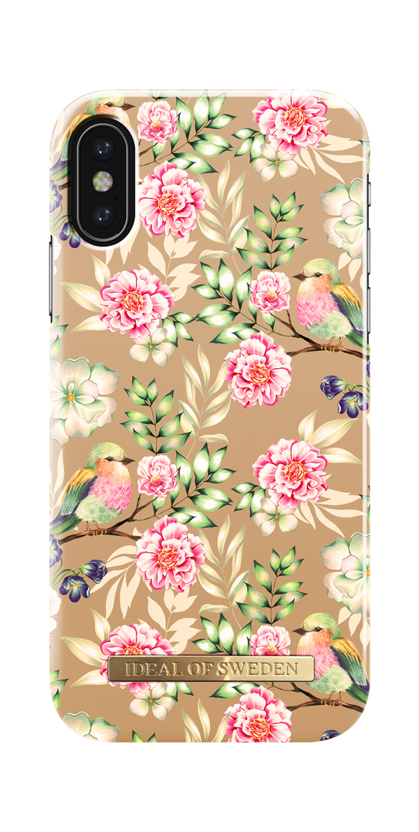 iDeal чехол для Apple iPhone X, Champagne Birds клип кейс ideal iphone x champagne birds