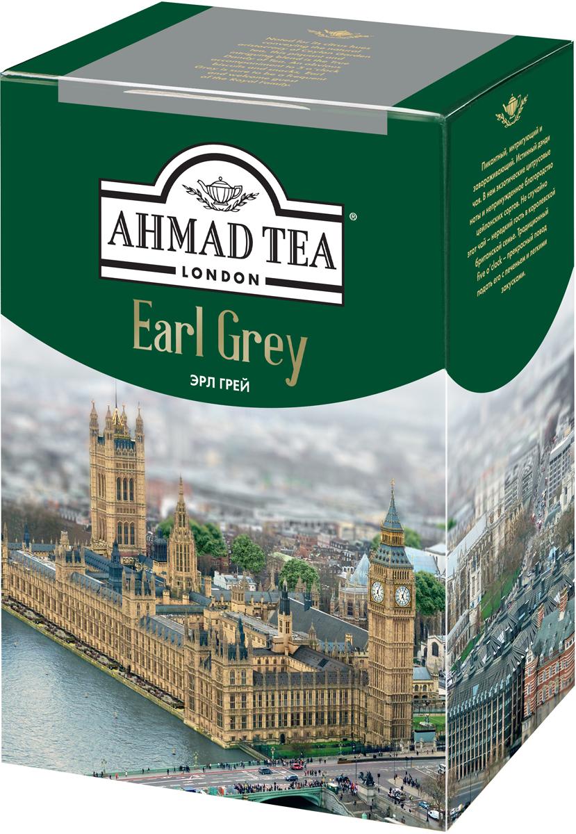 Ahmad Tea Earl Grey черный чай, 100 г ahmad tea earl grey черный листовой чай 100 г ж б