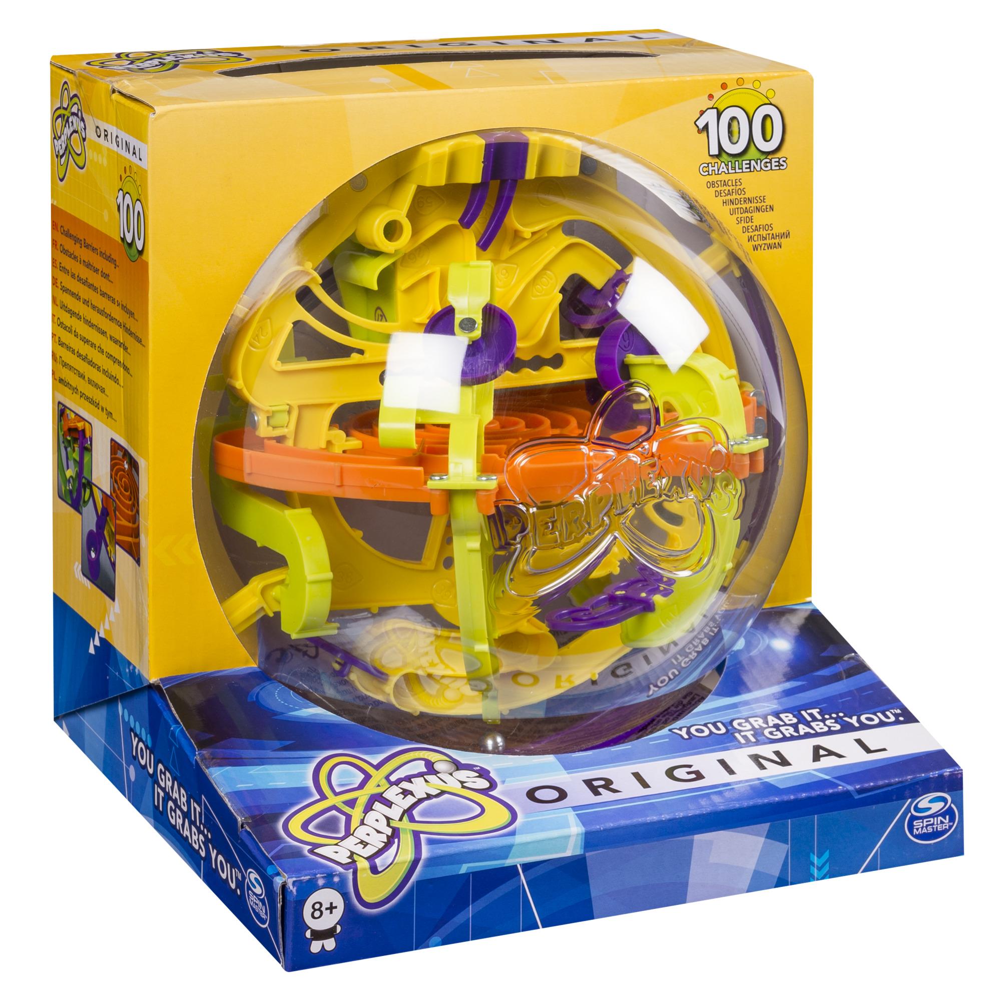Головоломка Perplexus Original, 100 барьеров игра головоломка spin master perplexus original 100 барьеров от 8 лет 34175
