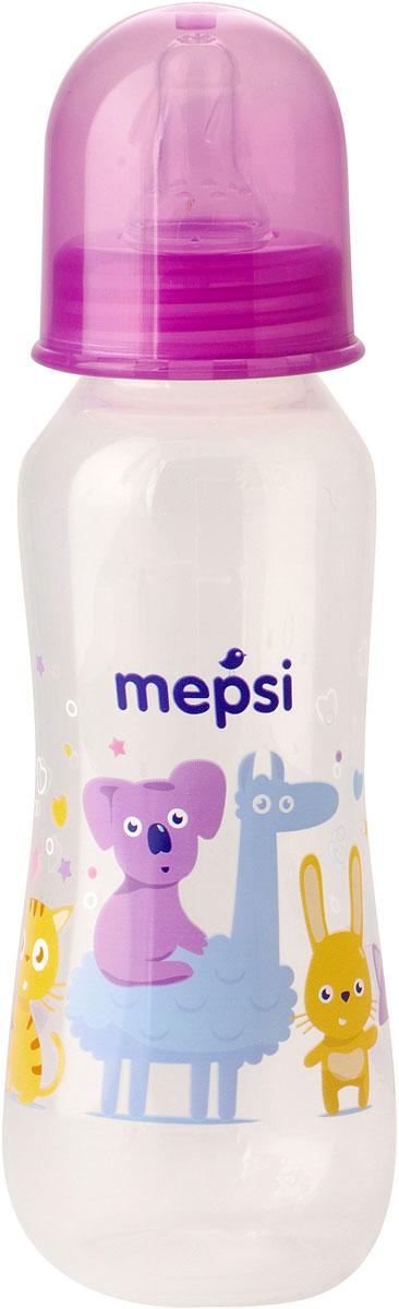 Mepsi Бутылочка для кормления с силиконовой соской от 0 месяцев 250 мл mepsi бутылочка для кормления с силиконовой соской от 0 месяцев цвет синий 250 мл