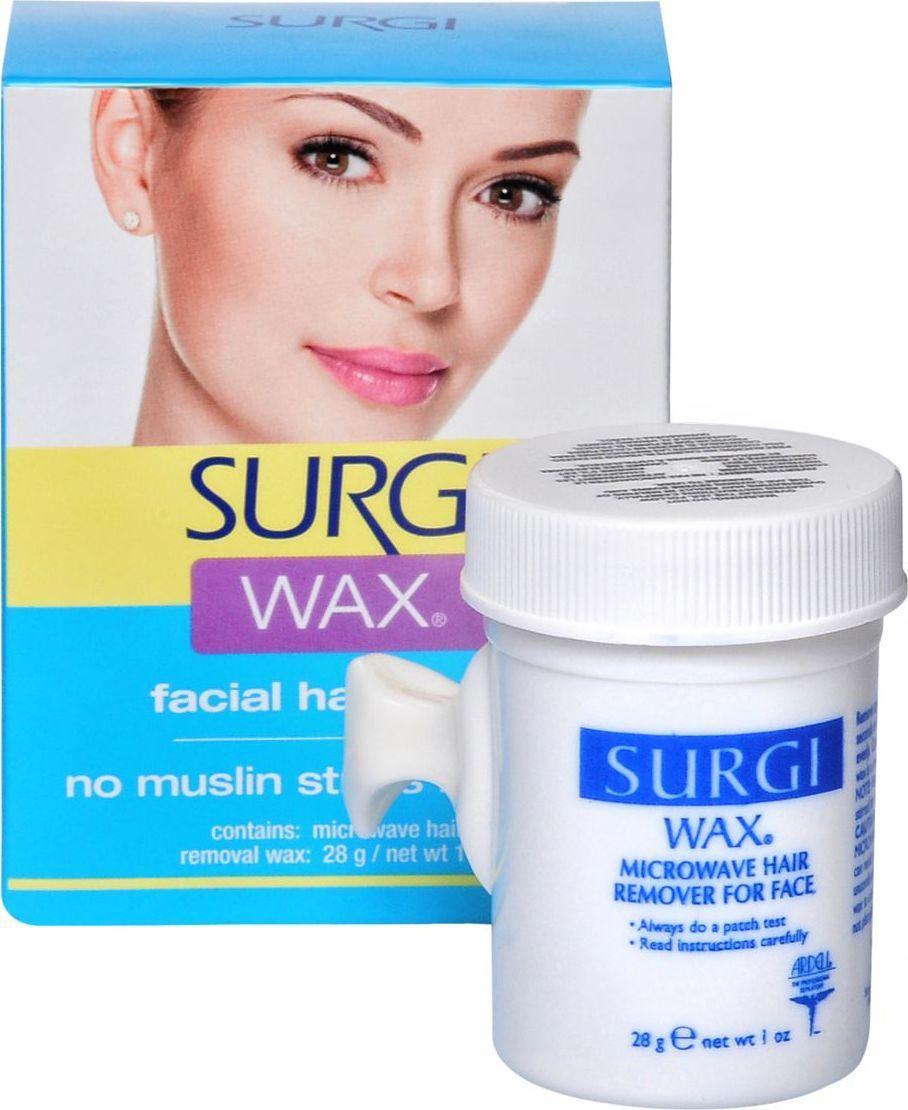 Surgi Wax Facial Воск для удаления волос на лице отшелушить кожу на лице