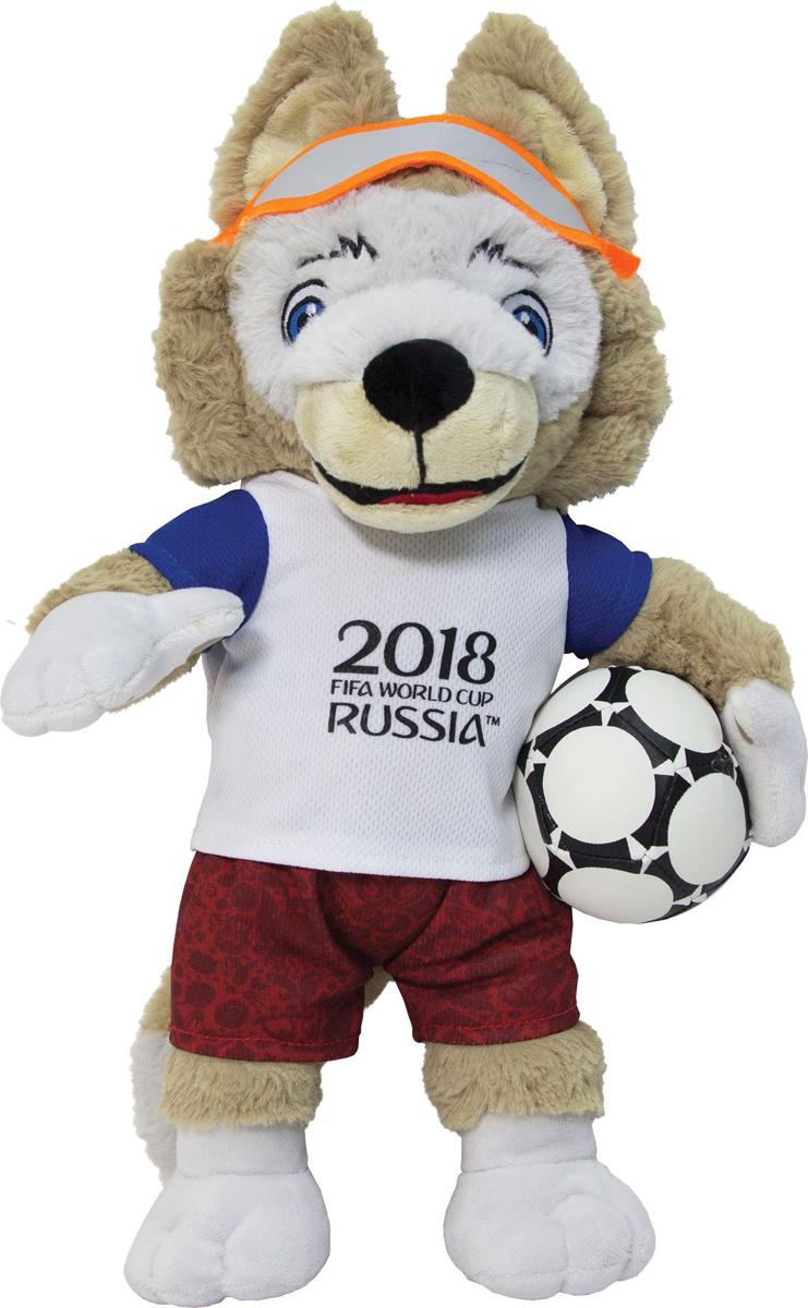 все цены на FIFA-2018 Мягкая игрушка Волк Забивака 40 см онлайн