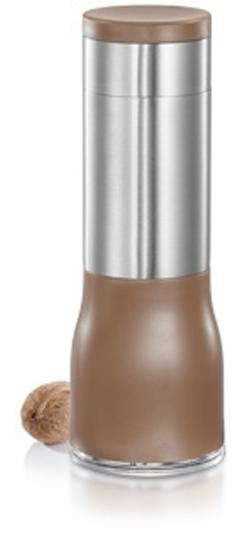"""Мельница для мускатного ореха Tescoma """"GrandCHEF"""", цвет: серебристый, 5,5 х 5,5 х 16 см"""