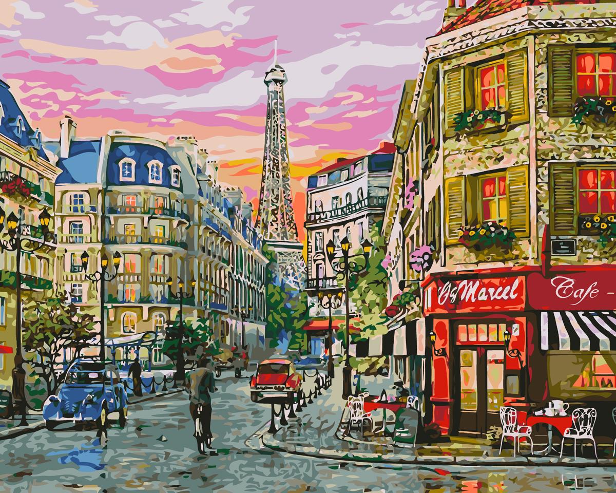 Открытки улицы парижа