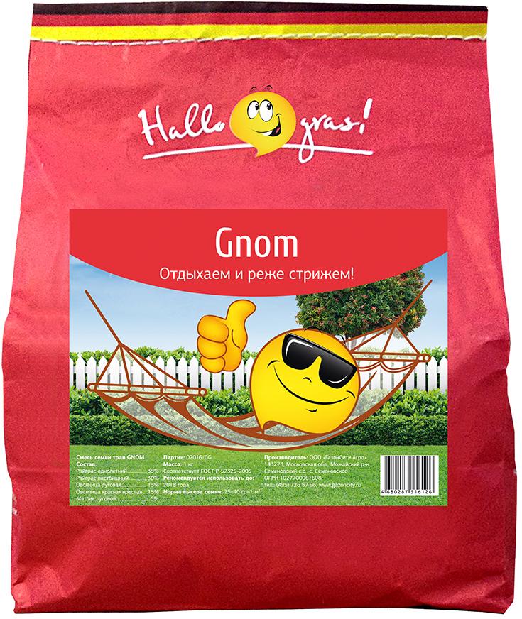 Газон Hallo Gras Gnom Gras, 1 кг hallo anna 2 arbeitsbuch page 5