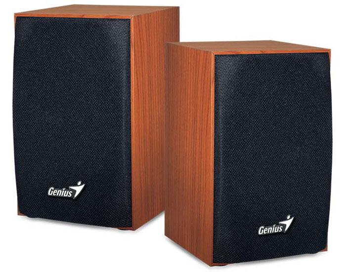 Компьютерная акустика Genius SP-HF160, Brown компьютерная акустика genius sp u120 31731057100