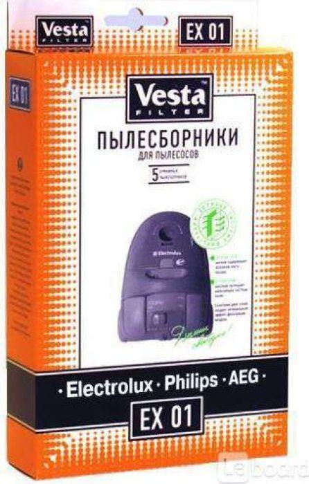 Vesta filter EX 01 комплект пылесборников, 5 шт
