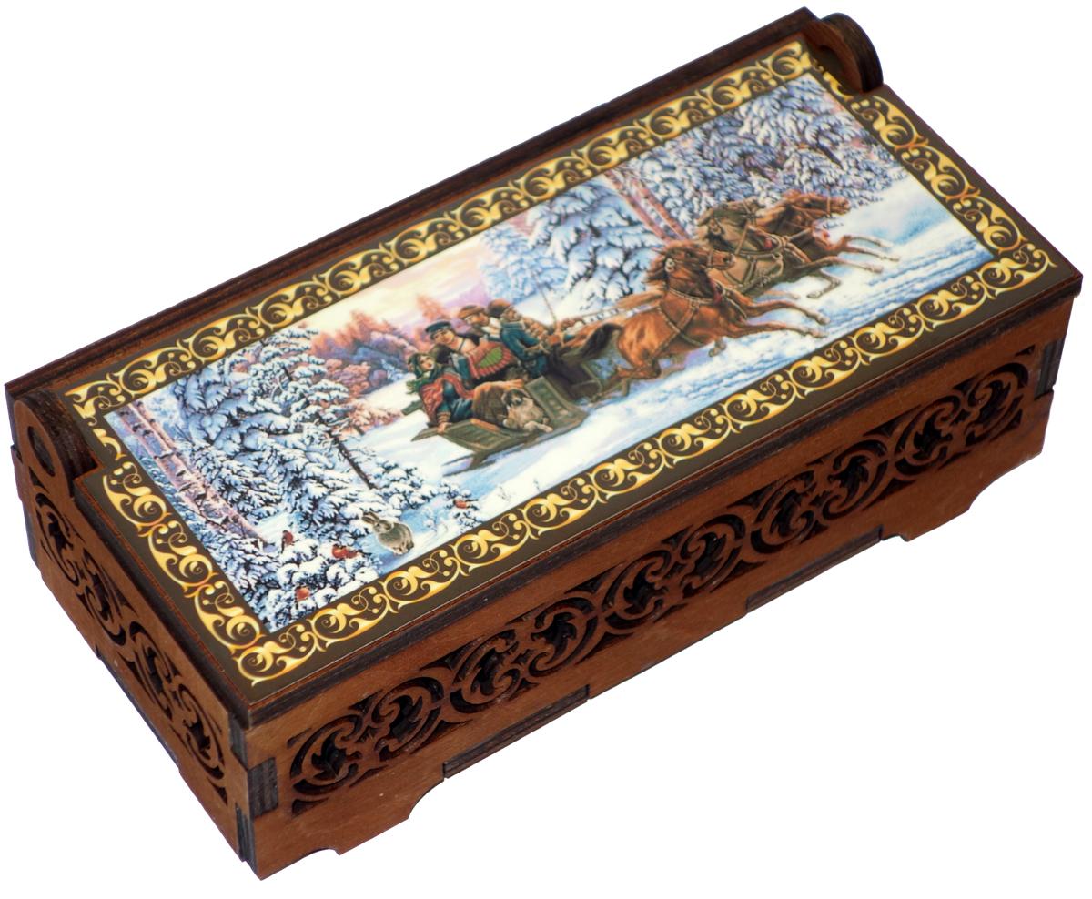 Кремлина Зимой в лесу миндаль в шоколаде конфеты, 130 г цена