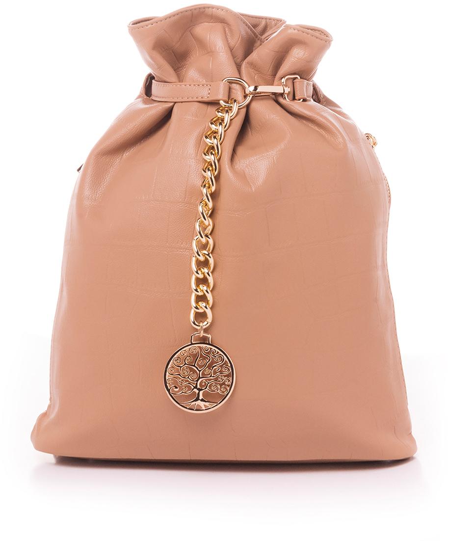 купить Рюкзак женский Baggini, цвет: темно-бежевый. 28724/33 по цене 2623 рублей