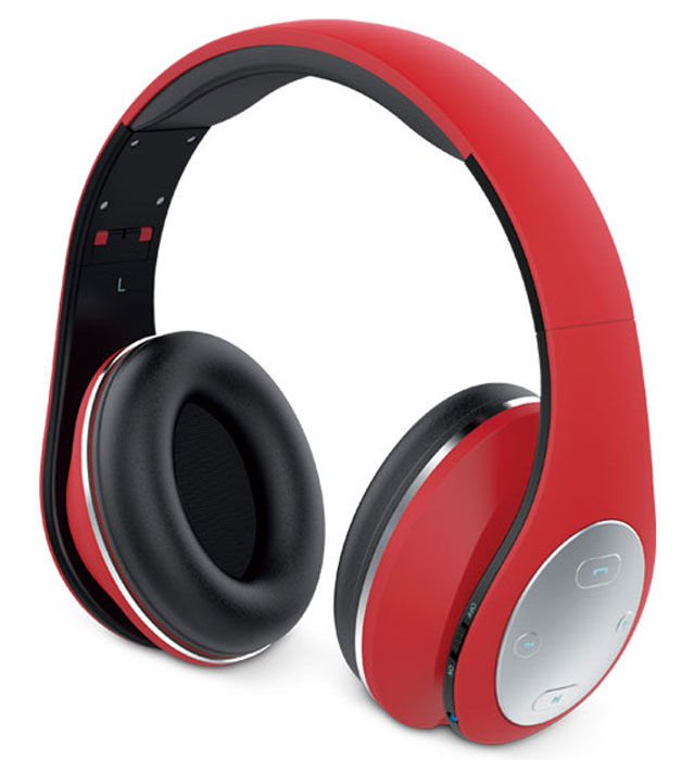 Беспроводные наушники Genius HS-935BT, красный