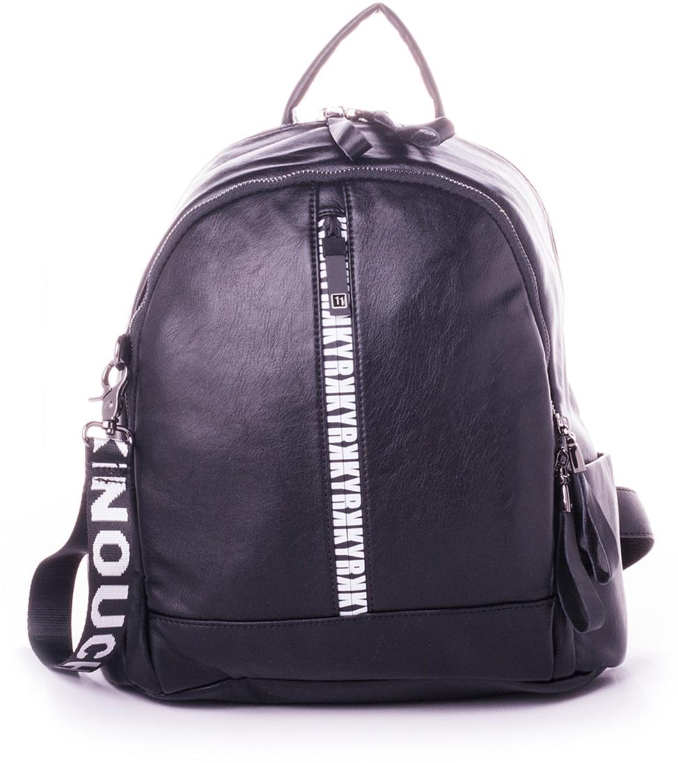 Рюкзак женский Baggini, цвет: черный. 29007-1/10 рюкзак женский adidas backpack xs цвет черный dv0212