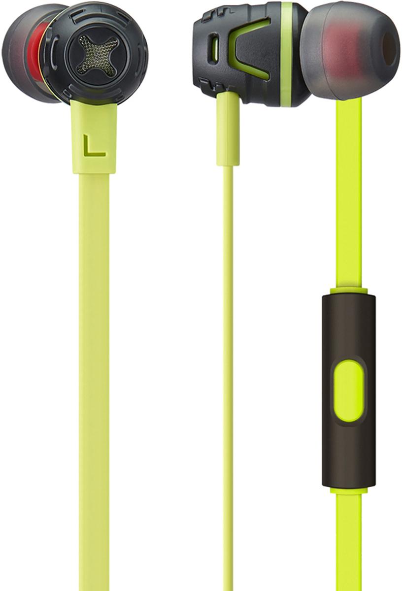 Phiaton C450S mic, Neon Green наушники