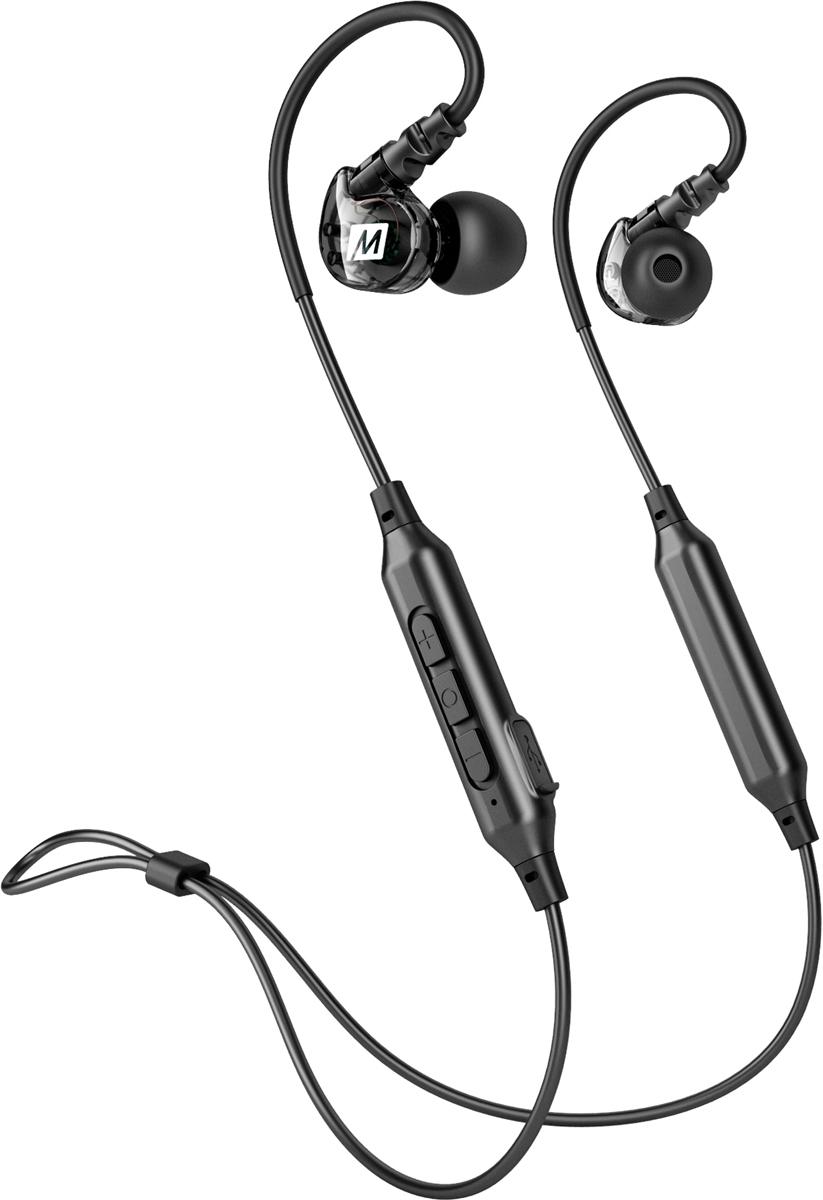 Беспроводные наушники MEE audio X6, черный гарнитура mee audio m7 pro white