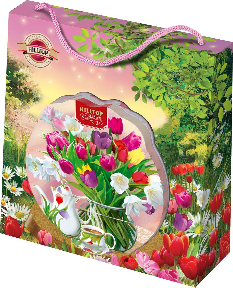 Hilltop Нежные тюльпаны цейлонское утро чай листовой, 80 г цены онлайн