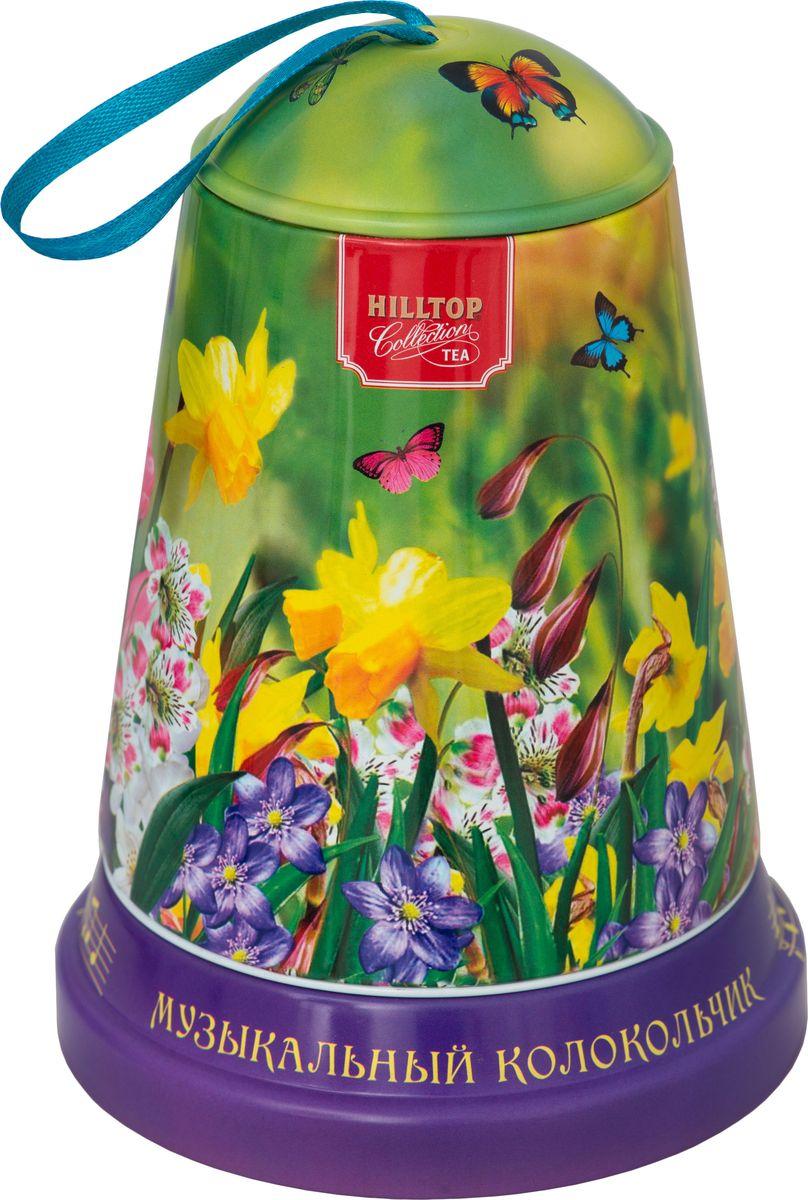 Hilltop Луговые цветы чай листовой королевское золото, 100 г hilltop утреннее чаепитие черный листовой чай королевское золото в футляре 80 г