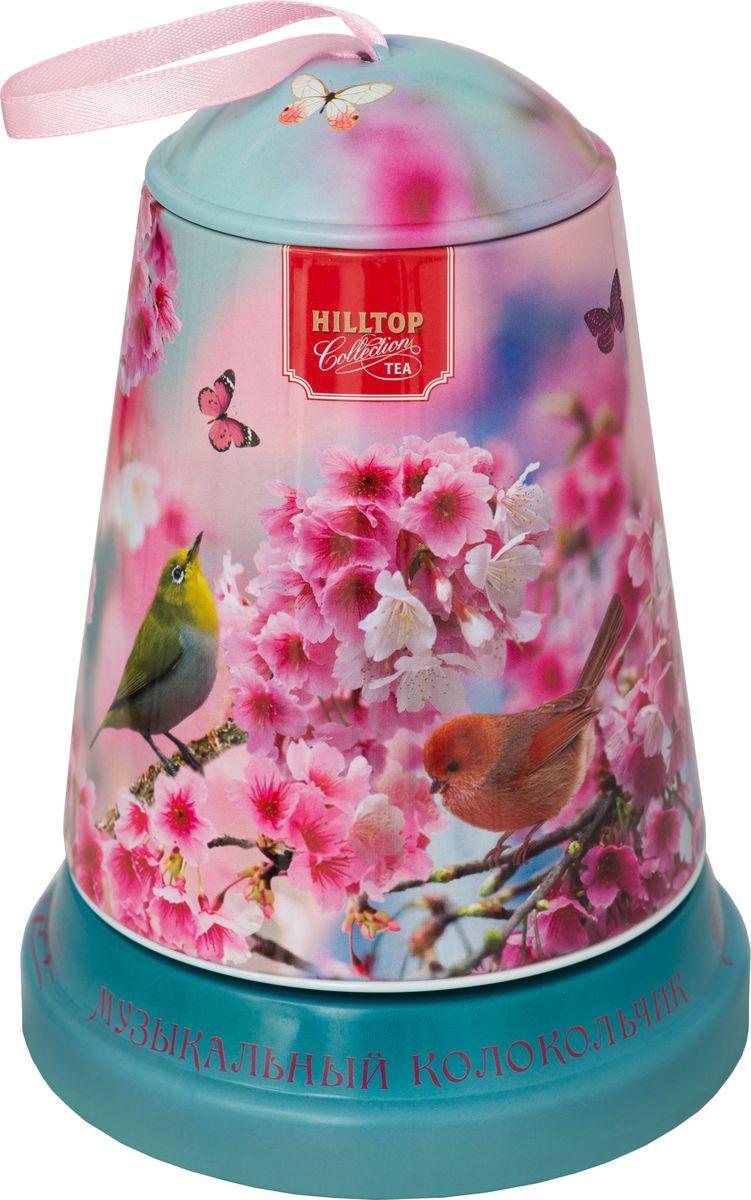 Hilltop Цветы и птицы чай листовой королевское золото, 100 г hilltop утреннее чаепитие черный листовой чай королевское золото в футляре 80 г