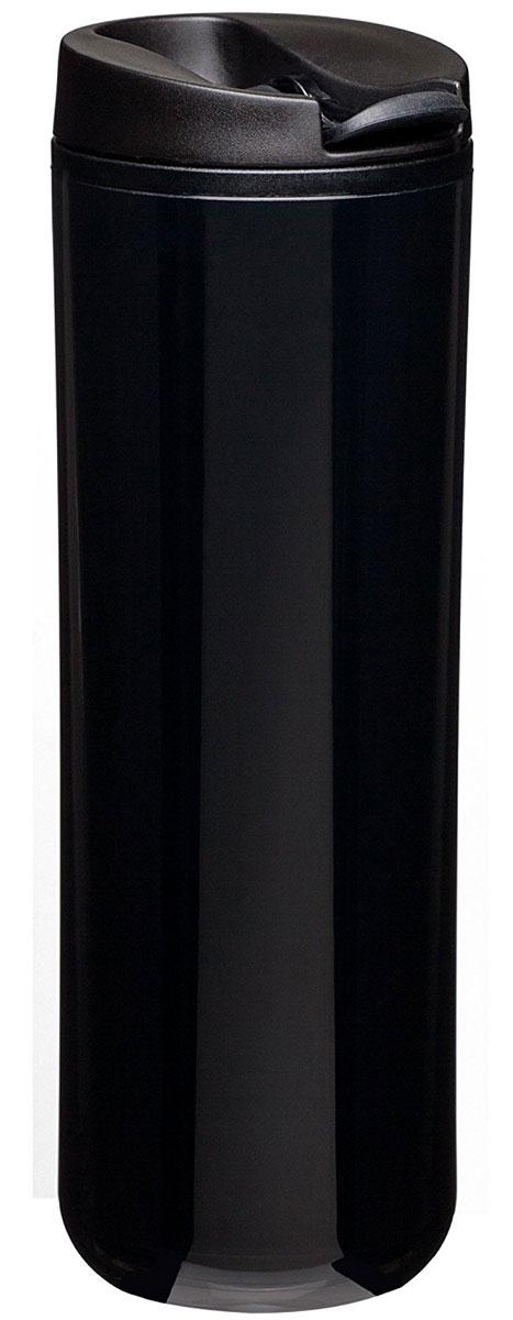 Термокружка Aladdin, цвет: черный, 470 мл