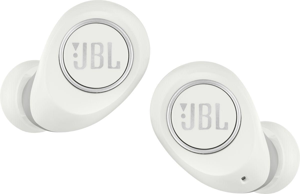 Беспроводные наушники JBL Free BT, белый