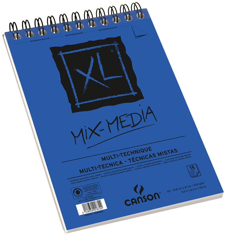 Фото - Canson Альбом для смешанных техник Xl Mix-Media 14,8 х 21 см 15 листов canson альбом для смешанных техник xl mix media 14 8 х 21 см 15 листов