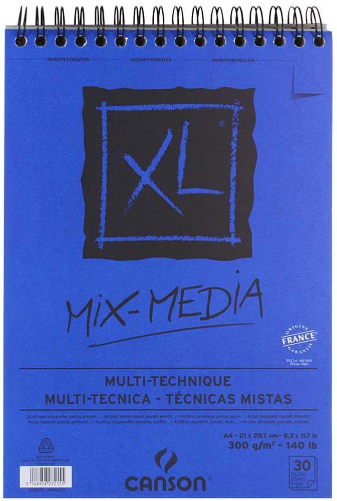 Фото - Canson Альбом для смешанных техник Xl Mix-Media 21 х 29,7 см 30 листов canson альбом для смешанных техник xl mix media 14 8 х 21 см 15 листов