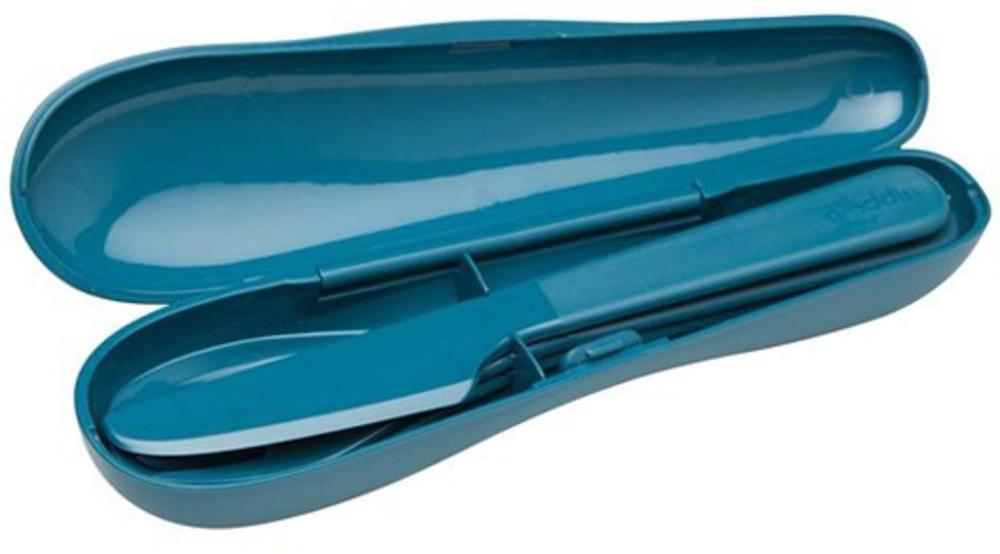 Набор столовых приборов Aladdin туристический Papillon, цвет: синий, 3 шт