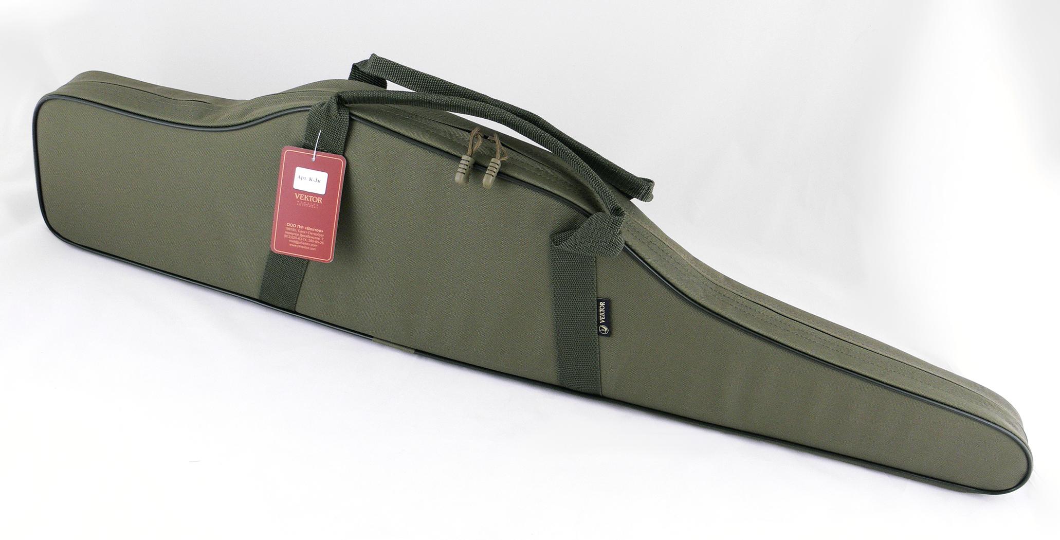 Чехол для винтовки Vektor, цвет: зеленый, с оптическим прицелом, длина 103 см чехол для винтовки vektor цвет зеленый с оптическим прицелом длина 103 см