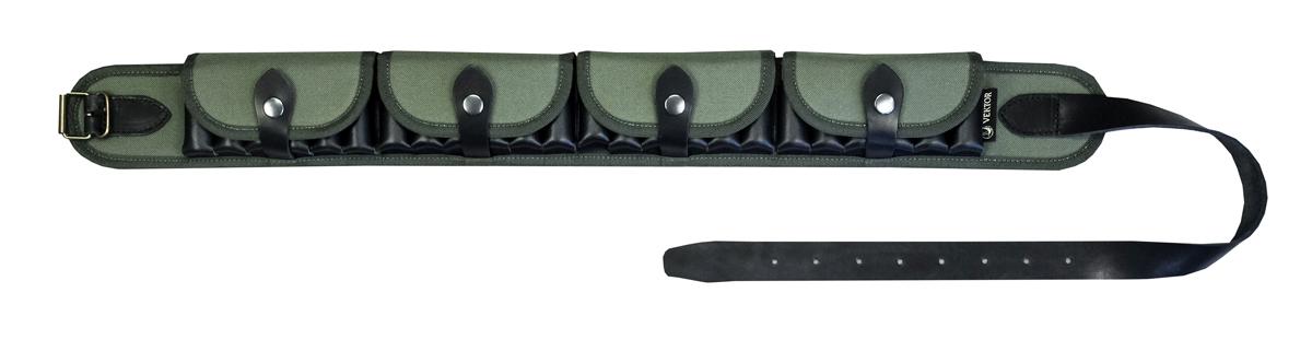 Патронташ закрытый Vektor, цвет: зеленый. П-47