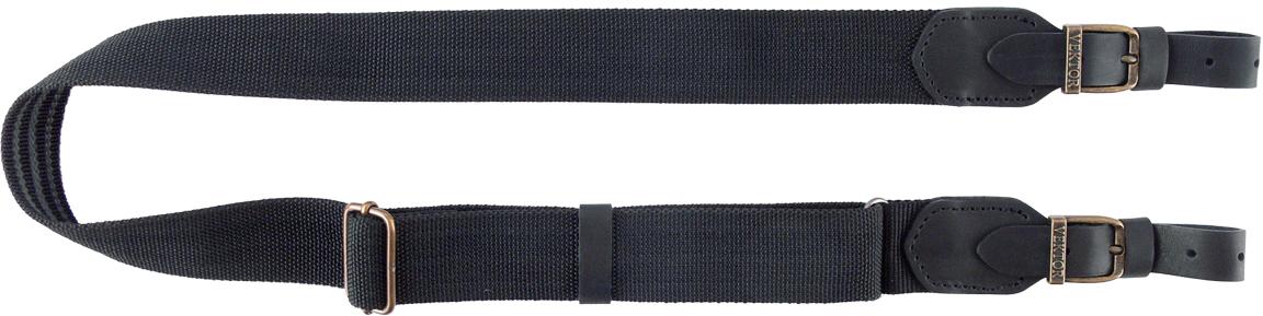 Ремень для ружья Vektor, цвет: черный, регулируемая длина, ширина 40 мм
