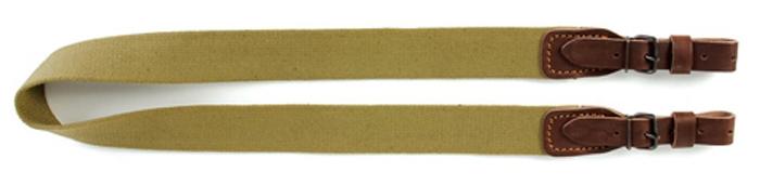 Ремень для ружья Vektor, цвет: оливковый, коричневый, ширина 35 мм