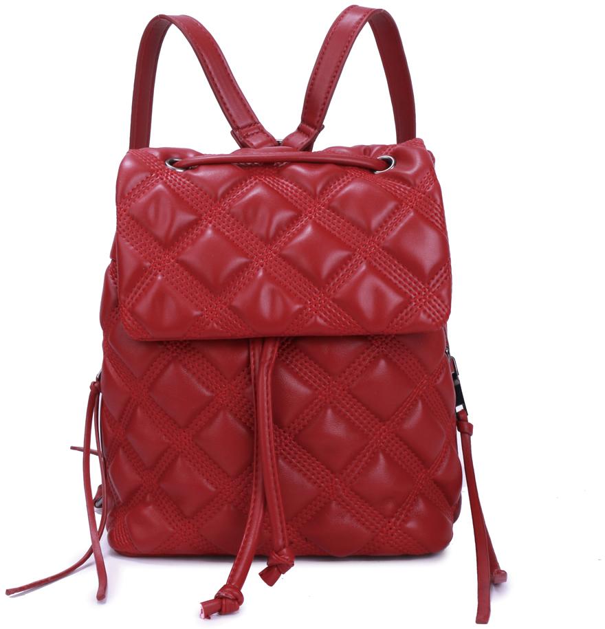 цена Рюкзак женский OrsOro, цвет: красный, 20 x 20 x 13 см. DS-881/3 онлайн в 2017 году